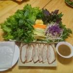 Bánh tráng cuốn thịt heo ship miễn phí Hà Nội