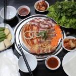 Bánh tráng cuốn thịt nướng BBQ tại Hà Nội
