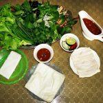 Cách làm bánh tráng cuốn thịt heo Đà Nẵng