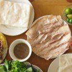 Món ngon mỗi ngày: Hướng dẫn làm bánh tráng cuốn thịt heo