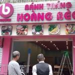 Bánh tráng cuốn thịt heo ở Long Biên