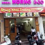 Bánh tráng cuốn thịt heo Hoàng Bèo 60 Trần Đăng Ninh: giảm 20% khai trương