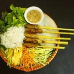 Cách làm món nem lụi Đà Nẵng ngon như ngoài hàng